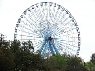 State Fair of Texas - The Texas Star ferris wheel ride