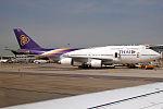 Thai Airways, HS-TGX, Boeing 747-4D7 (19482612378).jpg