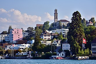 Thalwil - Thalwil seen from Lake Zurich