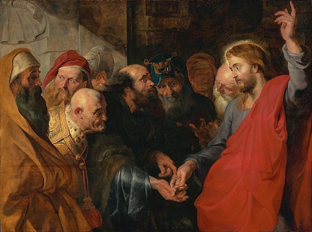 The Tribute Money by Peter Paul Rubens