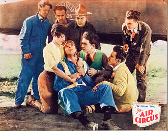 The Air Circus - Lobby card