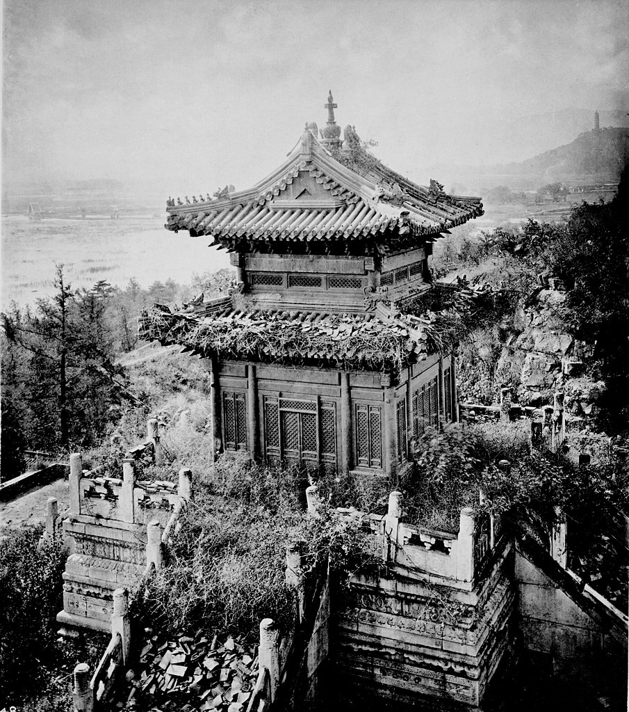 File The Bronze Temple Peking Jpg Wikimedia Commons