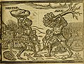 The Iron Age - contayning the Rape of Hellen- The siege of Troy- The combate betwixt Hector and Aiax- Hector and Troilus slayne by Achilles- Achilles slaine by Paris- Aiax and Vlisses contend for the (14779644734).jpg