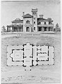 The J. C. Baughman (Scotten) House, Detroit, Michigan (front elevation and plan) MET MM92288.jpg