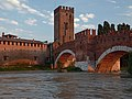 The Keep of Castelvecchio and Ponte Scaligero Verona Italy.jpg