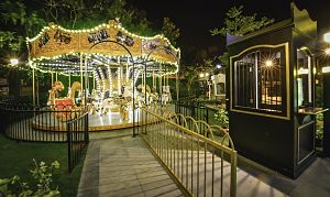 VR Bengaluru - The Magic Circle - Vintage Carousel at VR Bengaluru