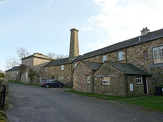 Listed buildings in Caldbeck - Image: The Old Brewery, Caldbeck geograph.org.uk 1245573
