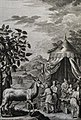 The Phillip Medhurst Picture Torah 440. Preparing a sacrifice. Exodus cap 30 vv 23-24. Pintz.jpg