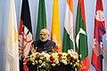 The Prime Minister, Shri Narendra Modi addressing the inaugural session of the 18th SAARC Summit, in Kathmandu, Nepal, on November 26, 2014 (2).jpg