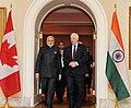 The Prime Minister, Shri Narendra Modi meeting the Governor General of Canada, the Right Honourable David Johnston, at Ottawa, Canada on April 15, 2015.jpg
