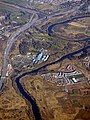 The River Clyde and the M74 motorway (geograph 5716617).jpg