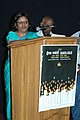 The Secretary, Ministry of Information & Broadcasting, Ms. Sushma Singh addressing at the inauguration of the 'Framing Time by Films Division, during the 39th International Film Festival (IFFI-2008) in Panaji, Goa.jpg