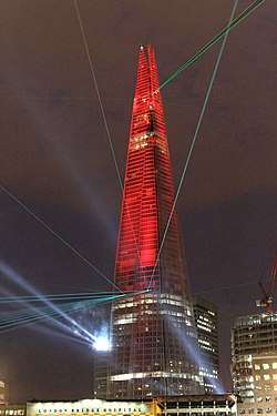 The Shard, Inauguration Lightshow, 2012.jpg