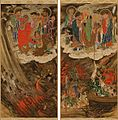 The Six Realms, Hell, Five Hundred Arhats, Scrolls 21 & 22.jpg