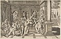 The birth of Saint John the Baptist set within a classical building MET DP812780.jpg