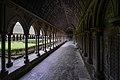 The cloister - Mont St Michel (32921512925).jpg