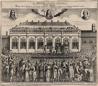 Execution of Charles I 1649 beheading of Charles I