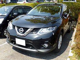 The frontview of Nissan X-TRAIL 20X (T32).JPG