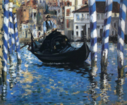 The grand canal of Venice (Blue Venice), 1875, Shelburne Museum, Vermont
