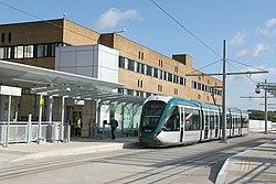 The new QMC tram stop (geograph 4631582).jpg