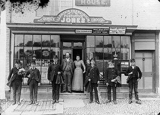 The post office, Llanfair Caereinion (