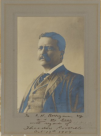 Clifford K. Berryman - Image: Theodore Roosevelt signed 1904 photo to CK Berryman