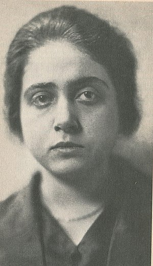 Therese Giehse - Therese Giehse in 1919