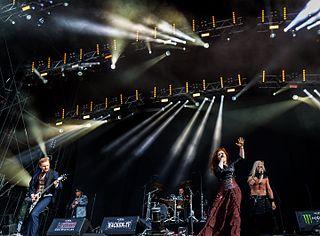 Therion (band) Swedish symphonic metal band