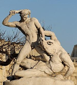 Étienne-Jules Ramey - Ramey's Theseus and the Minotaur, 1826 Jardin des Tuileries, Paris