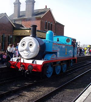 English: Thomas The Tank Engine, (a rebuilt Hu...