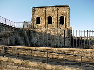 Clarence Railway - Throston Engine House was built to haul wagons from the Stockton and Hartlepool to the staiths at the docks