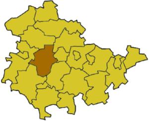 Gotha (district) - Image: Thuringia gth