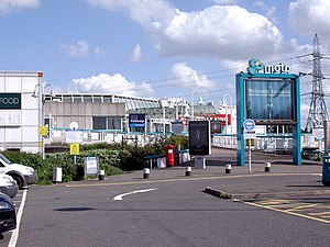Thurrock services - Image: Thurrock Motorway Service Area geograph.org.uk 1295043