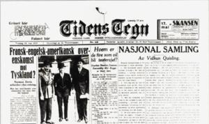 Tidens Tegn - Tidens Tegn 16. May 1933