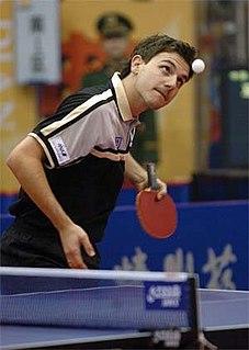 Timo Boll German table tennis player