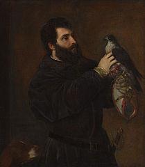 Giorgio Cornaro avec faucon