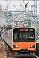Tobu 50000 series Futako-Shinchi Station 2017-05-07 (35663798465).jpg