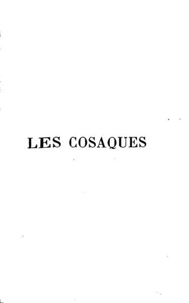 File:Tolstoï Les Cosaques.djvu