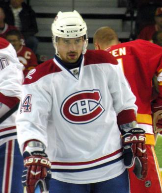 Tomáš Plekanec - Plekanec with the Montreal Canadiens in October 2009