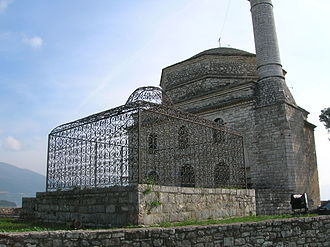 Albania under the Ottoman Empire - The Fethiye mosque just adjacent to Ali Pasha's grave.
