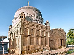 The 17th century tombs of Mirpurkhas' nobility at the Chitorri graveyard