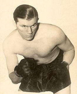 Tommy Farr British boxer