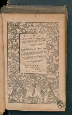Tomus secundus omnium operum, 1562