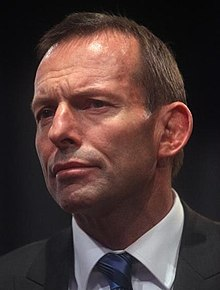 Tony Abbott en 2010.