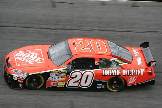The Home Depot Car Driven By Tony Stewart In NASCAR Sprint Cup Series 2008