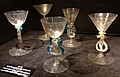 Top or Topic (CC, Maastricht), wine glasses from Bergen (L), ca 1700.jpg