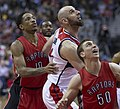 Toronto Raptors, Washington Wizards (16664179073).jpg
