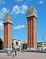 Torres venecianes Barcelona 2013.jpg