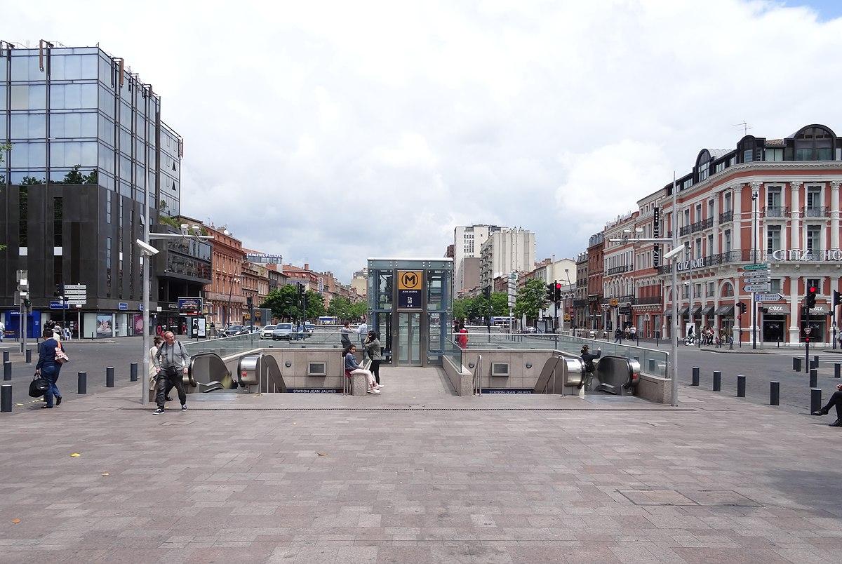 Jean-Jaurès (métro de Toulouse) — Wikipédia