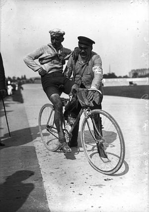 Henri Cornet - Henri Cornet after the finish of the 1908 Tour de France